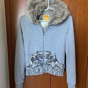 Active zip up hoodie